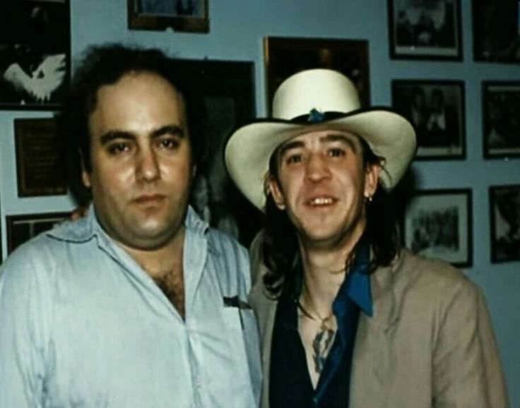 '''.A Tribute  For Clifford Antone & Stevie Ray Vaughan...''' (1949●Clifford Antone/→Club owner, record label executive and one of the architects of the Austin, TX blues music scene, founded Antone's blues club in 1975 and featured blues artists such as B. B. King, Fats Domino, Stevie Ray Vaughan and others, chief executive of independent label Antone's Records and university lecturer, died from unspecified causes on 5/23/2006, age 56.) https://
