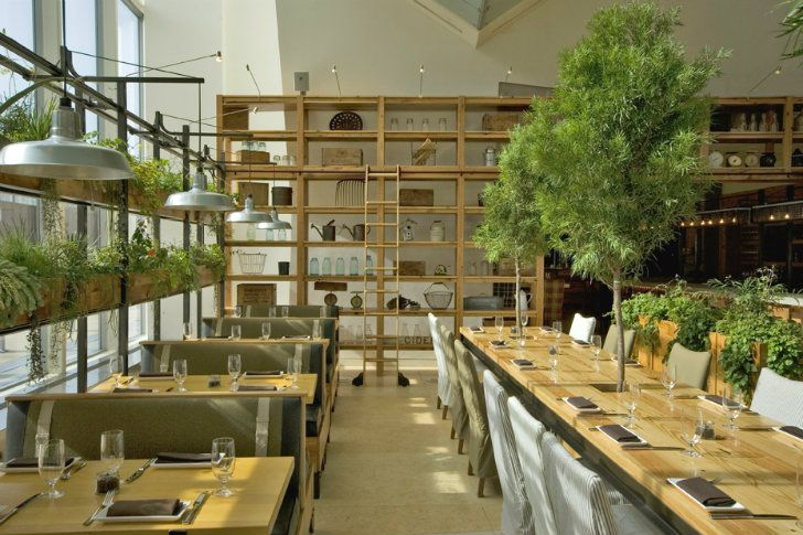 JG Domestic Americana Restaurant Serves Up a Living Wall of Herbs in Philadelphia | Inhabitat - Sustainable Design Innovation, Eco Architecture, Green Building