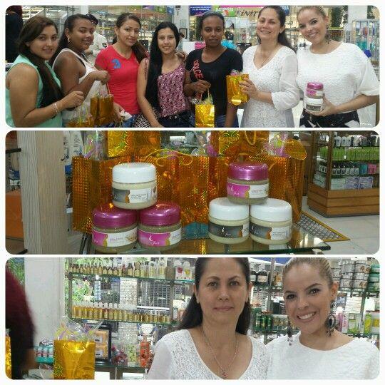 Nuestro evento en Krika cosmetics de aventura plaza ! Conoce nuestos productos dr Natural Face !