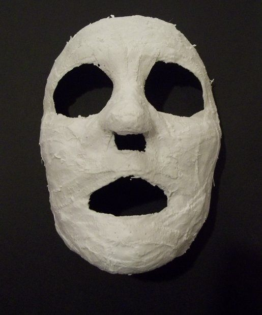 how to make plaster masks smooth