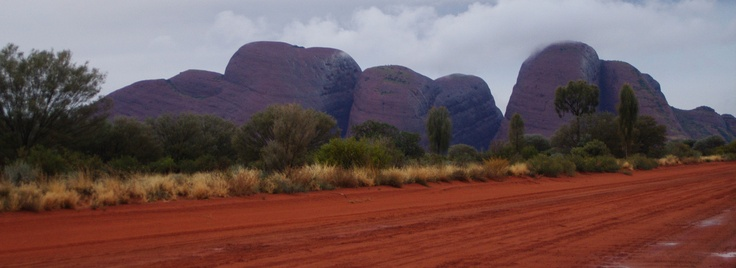 The Olgas in Northern Territory
