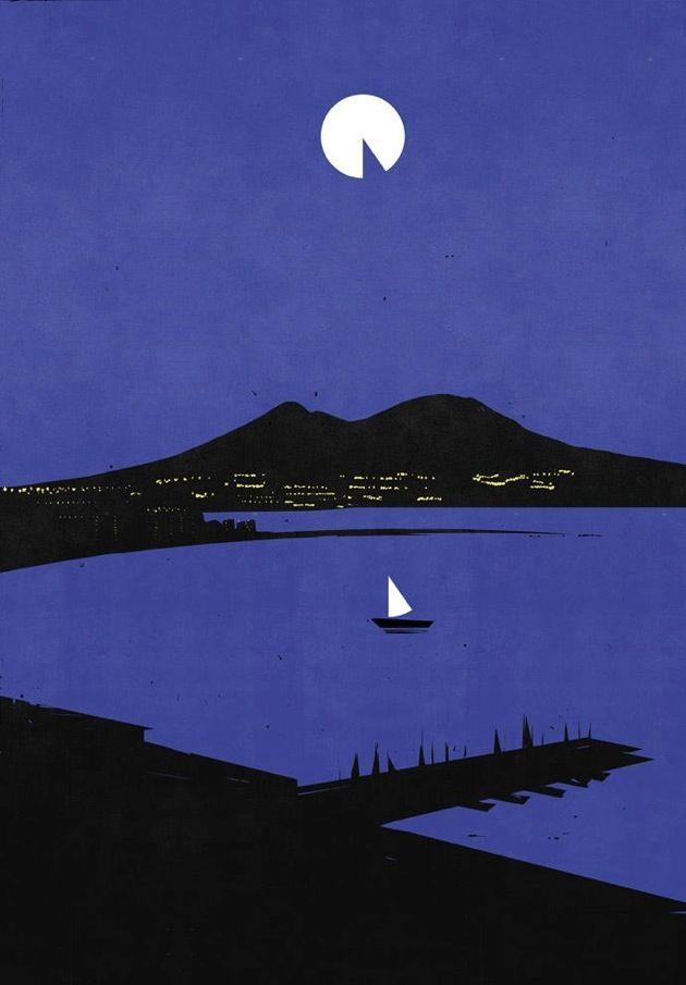 Alessandro Gottardo Napoli by night