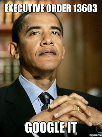 OBAMA EXECUTIVE ORDERS.   Changing our country's laws by BYPASSING CONGRESS and the normal PROCESS mandated by the CONSTITUTION by which our LAWS are normally instituted.    If you don't GRASP this....it is the difference between our REPUBLIC....and how a DICTATOR runs a country.  A DICTATOR just MANDATES according to his WHIMS.    Think about it......NOT a good thing.