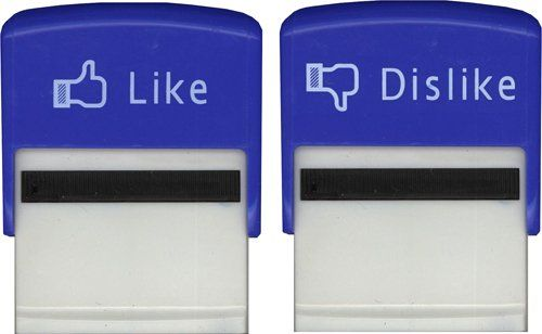 Amazon.com: Like and Dislike Stamps - Facebook Like Button: Arts, Crafts & Sewing