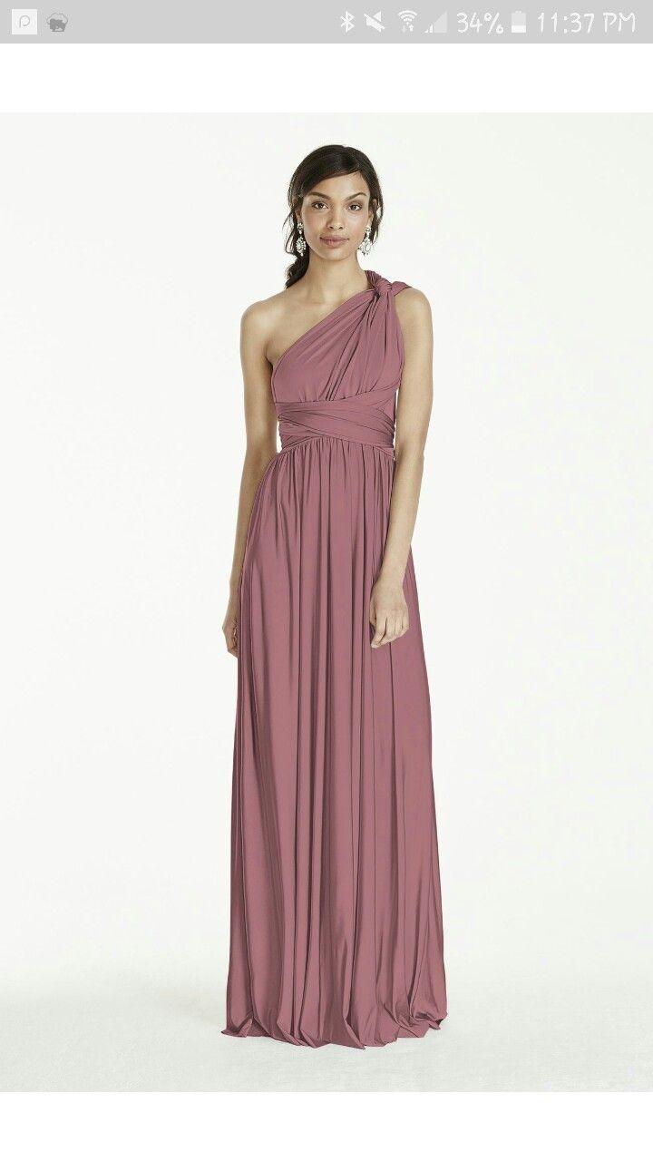Best 25 davids bridal bridesmaid dresses ideas only on pinterest davids bridal quartz convertible bridesmaid dress ombrellifo Images