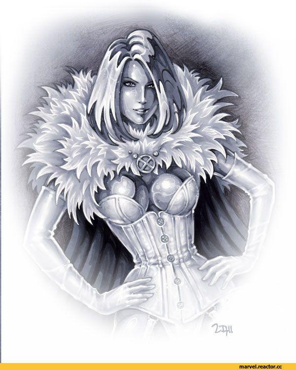 Emma Frost (Белая Королева, Эмма Фрост) :: X-Men :: Marvel :: сообщество фанатов / красивые картинки и арты, гифки, прикольные комиксы, интересные статьи по теме.