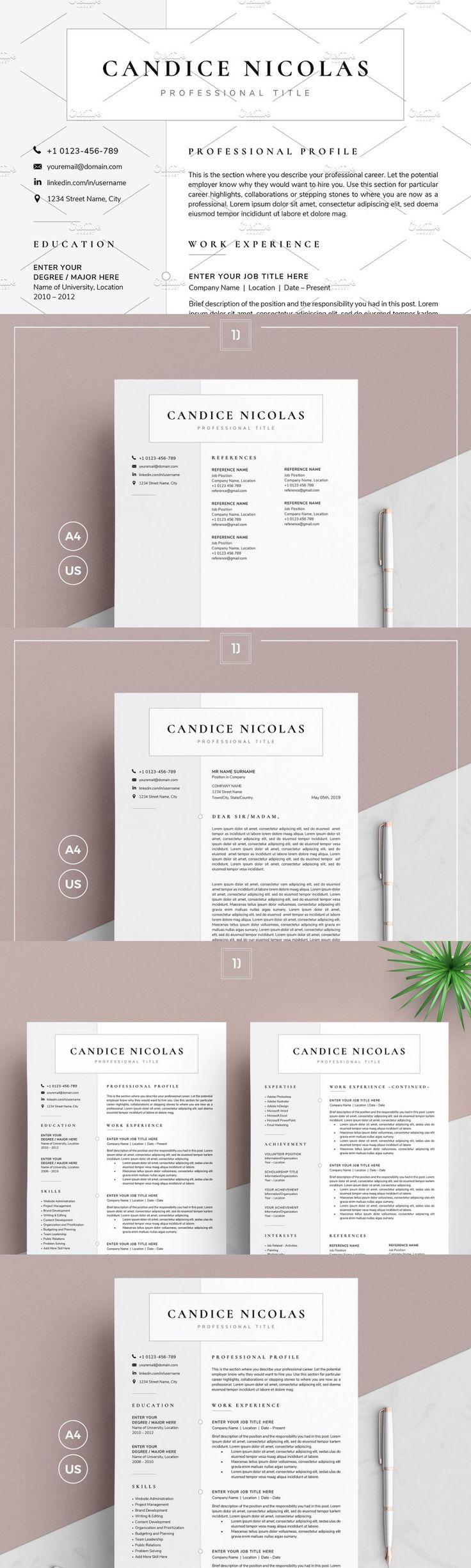 Resume/CV CN in 2020 Resume cv, Resume, Resume design