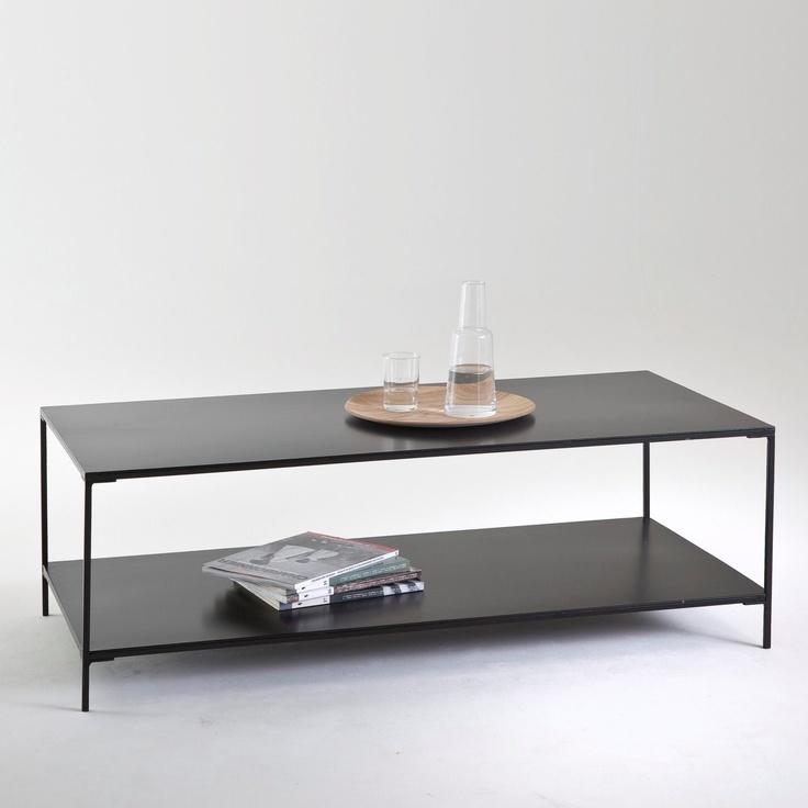 La redoute table basse vintage double plateau - Table basse vintage double plateau ...