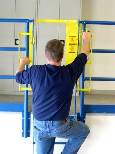 Ladder Safety Gate Fallprotection Safety Fall