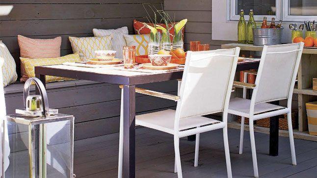L'été est synonyme de farniente etde belles soirées entre amis. On aime profiter de l'extérieur, surtout sur une terrasse bien pensée!