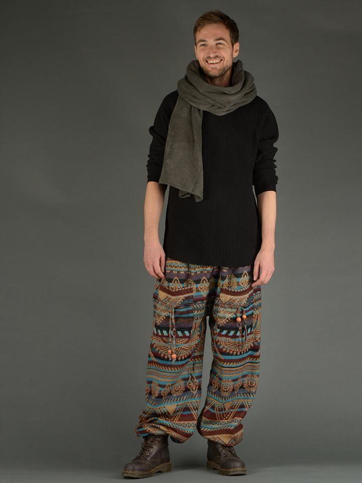 Laine Pantalon Imprimé Bouffant PéruvienhommeDivers Vetement A5j4q3LR