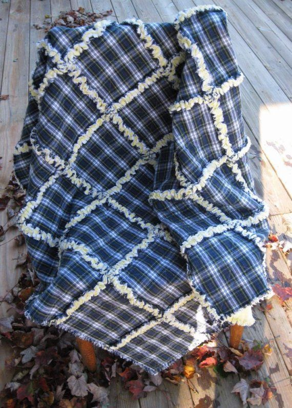 17 Best Ideas About Flannel Rag Quilts On Pinterest Rag