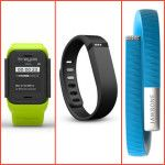 Kreyos Meteor vs Fitbit Flex and Jawbone Up