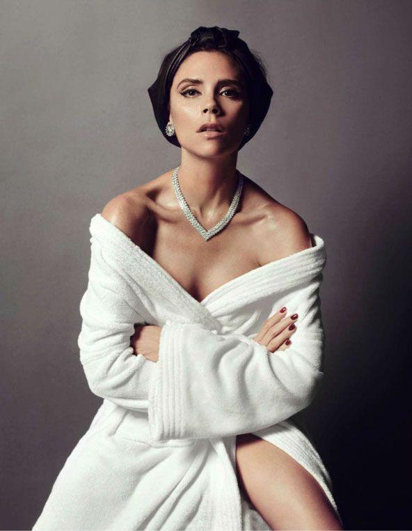 journaldelamode: Victoria & David Beckham by Inez & Vinoodh for Vogue Paris December 2013