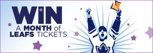 Contest to Win FREE Maple Leaf Tickets All November Long!