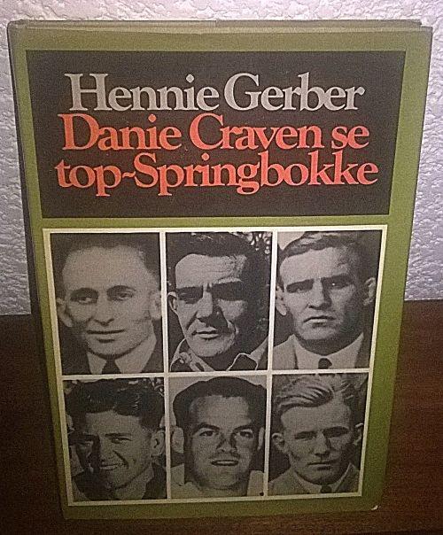 Buy Hardeband. Eerste Druk. 1977. Hennie Gerber. Danie Craven se top Springbokke.for R1.00