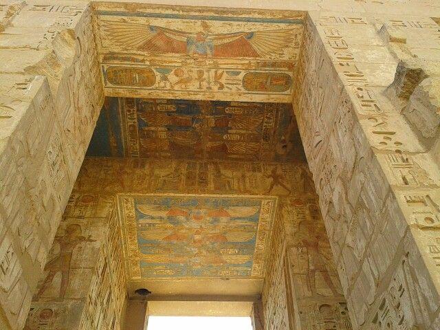 Madinat Habu Luxor Egypt