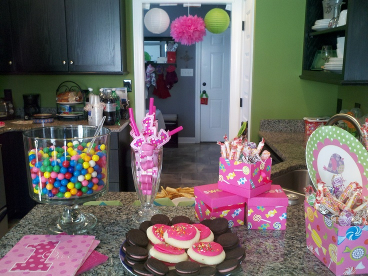 Sweet 1st Birthday Party Eliza Pinterest