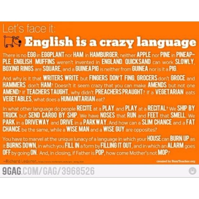 English As A Second Language: Pin By Miriam Gerritsen On Easy English, Isn't It?