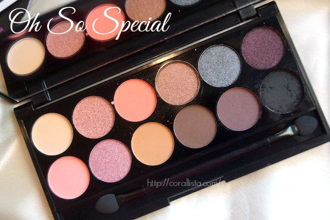 Sleek Oh so special palette from Luxola.com