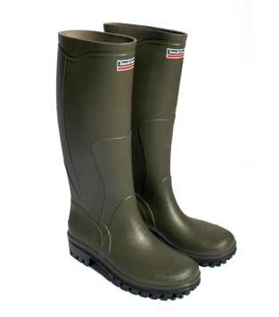 Classic Style Wellington Boots Olive Green - Town and Country