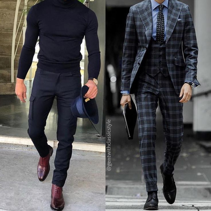 """Gefällt 3,967 Mal, 48 Kommentare - GentWith Classic Style (@gentwithclassicstyle) auf Instagram: """"Left or Right? Which outfit is better casual or classic? #gentwithclassicstyle"""""""