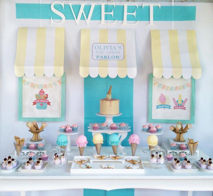 Little Wish Parties | Summer Ice Cream Party | https://littlewishparties.com