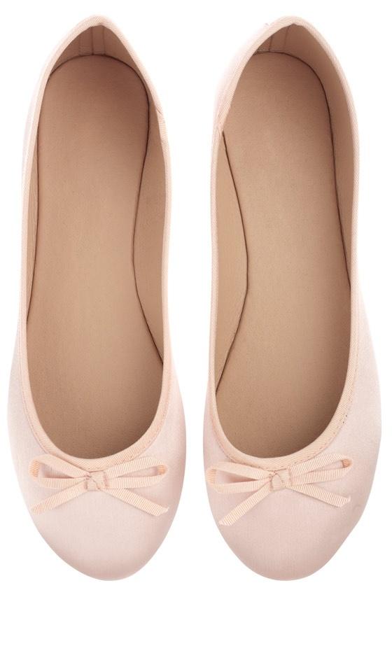 Primark Shoes: Satin Ballerina Pumps, £4