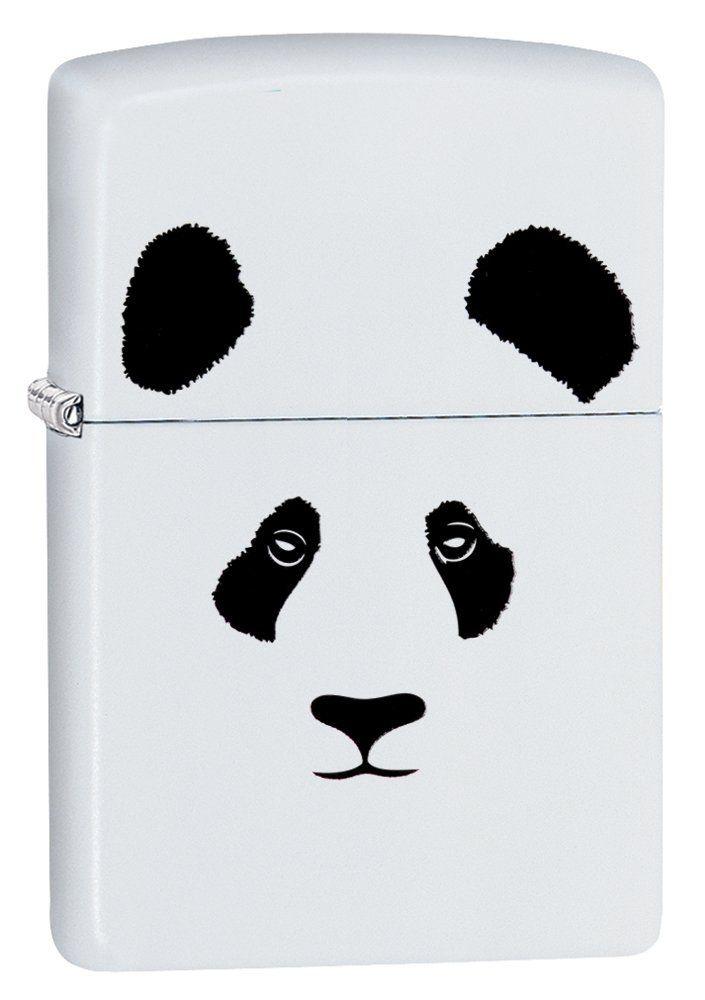 Amazon.com: Zippo Panda White Matte Pocket Lighter: http://amzn.to/2tEXDWn