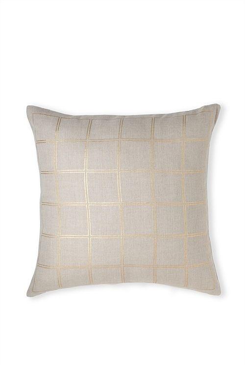 Eska Grid Cushion $59.95 country road