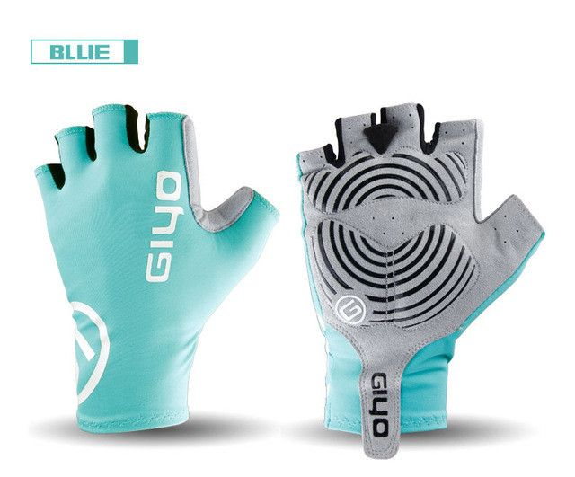Giyo Breaking Wind Cycling Half Finger Gloves Anti-slip Bicycle Mittens Racing Road Bike Glove MTB Biciclet Guantes Ciclismo