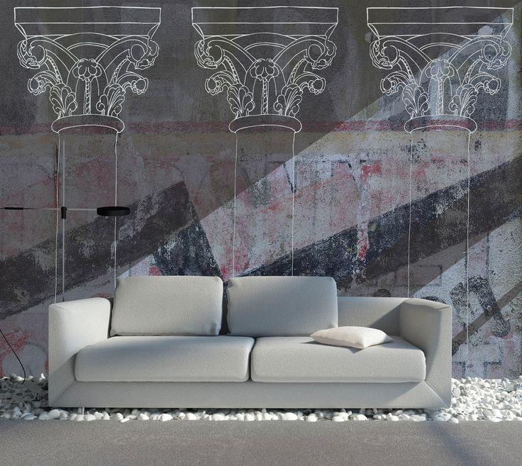 dessins / incréation • revêtement mural et papier peint sur mesure
