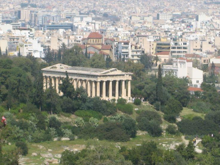 Athens, Greece, Partenone