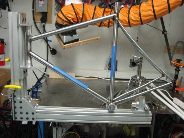 Your Home Made Jigs Page 2 Mtbr Com Bike Frame Steel Bike