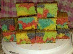 Rezept: Bunter Fantakuchen für den Kindergeburtstag (Blechkuchen/Muffins) Bild Nr. 7