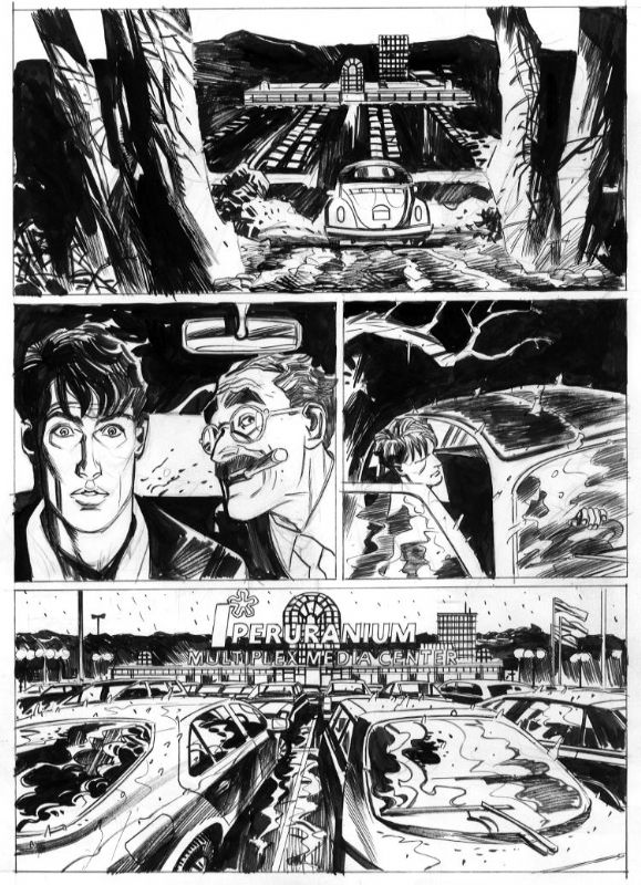 Massimo Carnevale: Dylan Dog Color Fest page Comic Art