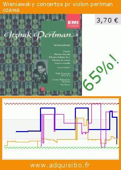 Wieniawsky concertos pr violon perlman ozawa (CD). Réduction de 65%! Prix actuel 3,70 €, l'ancien prix était de 10,50 €. https://www.adquisitio.fr/voix-son-maitre/wieniawsky-concertos-pr