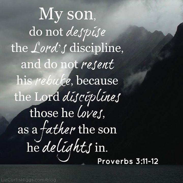 Proverbs 3:11-12: