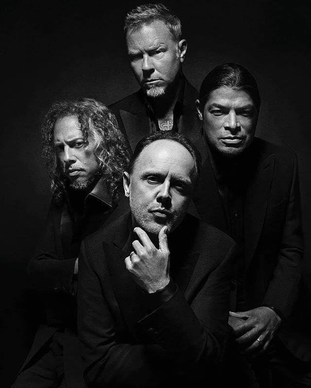 #JamesHetfield #KirkHammett #LarsUlrich #RobertTrujillo #Metallica #MetallicaFamily #MFF