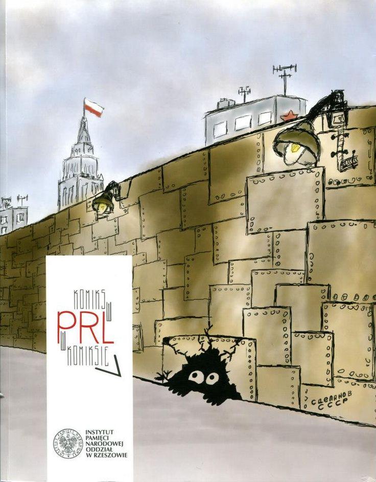 """""""Komiks w PRL w komiksie"""" Marcin Krzanicki, IPN w Rzeszowie, publikacja po wystawie (2010) pod tym samym tytułem, 2011 r."""