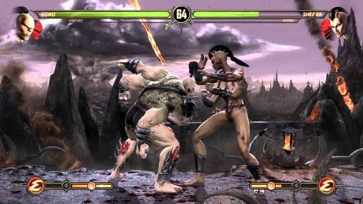 Zerando em Dupla Goro e Kintaro   Mortal Kombat PC