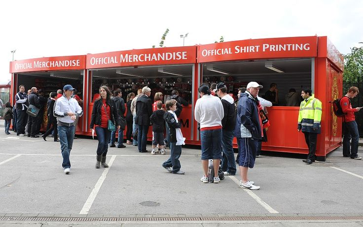 The Shirt Printing Unit at Manchester United FC has eased the pressure inside the famous MUFC FanStore