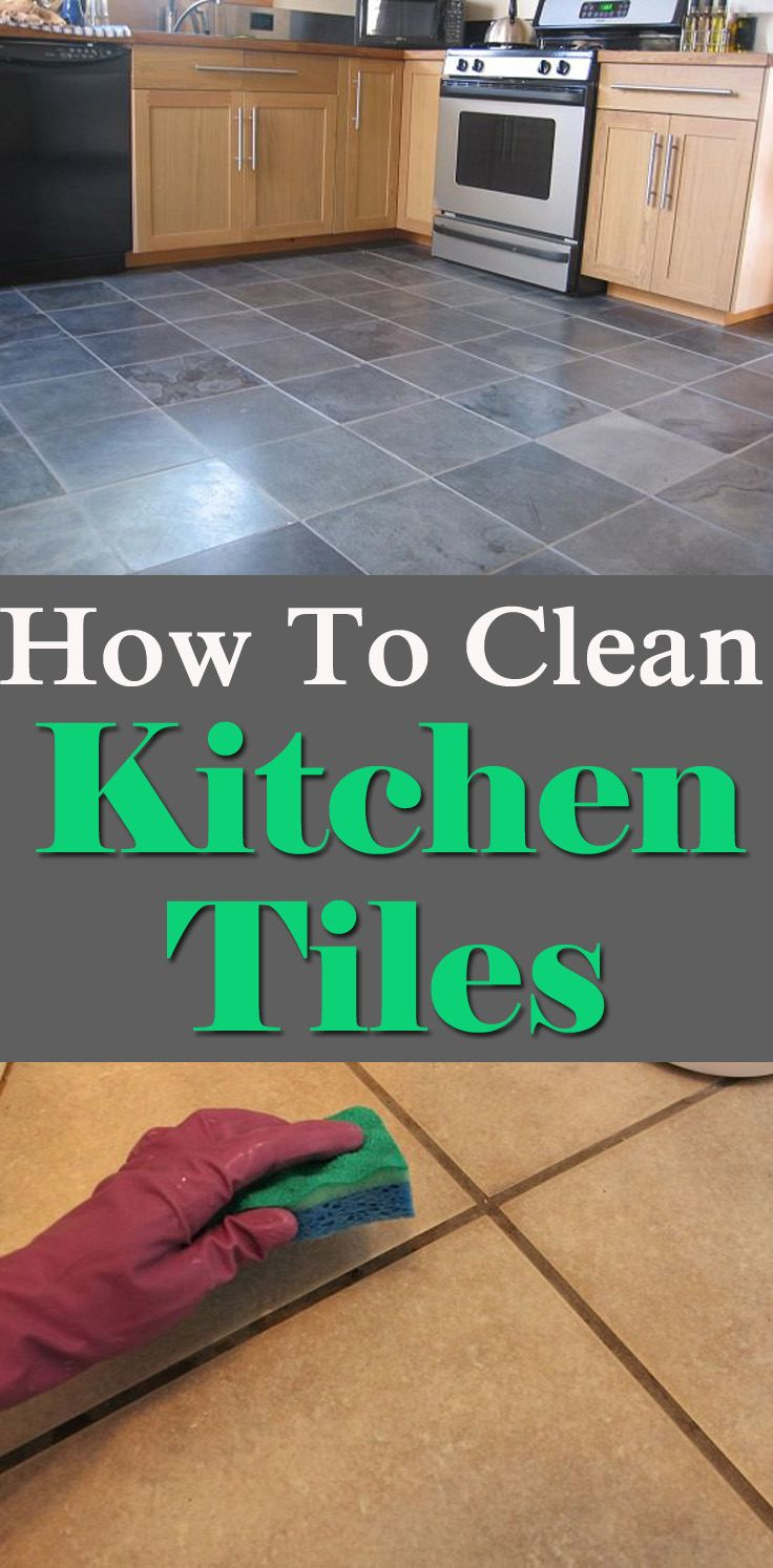 Keeping kitchen tiles clean is the most essential for the hygiene ...