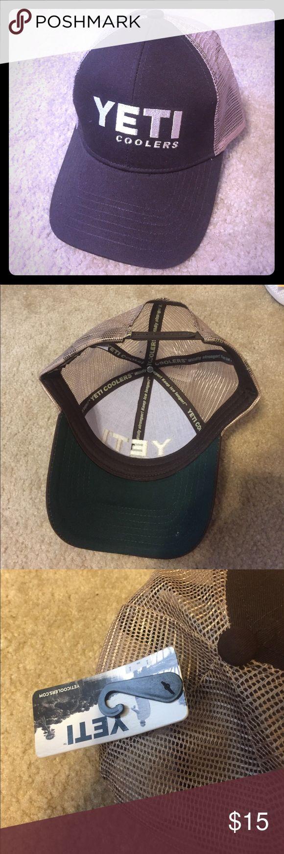 YETI trucker hat Chocolate YETI Trucker Hat. YETI Accessories Hats
