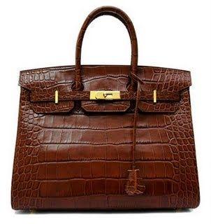 Hermès Matte Croc Birkin - the most beautiful of the exotic skins.