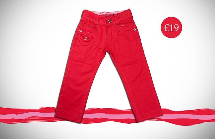 Σειρά 1-5 ετών για αγόρια:  - West -  Κόκκινο παντελόνι http://www.kinderclub.com.gr
