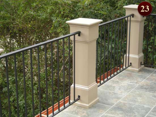 25+ Best Ideas About Aluminum Railings On Pinterest