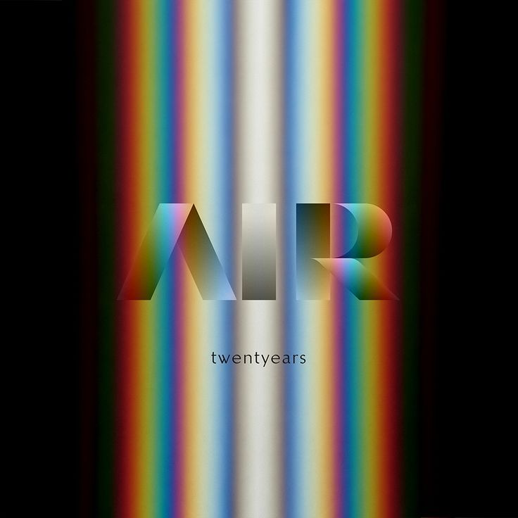 "Air ""Twenty years"" The best of Air just announced."