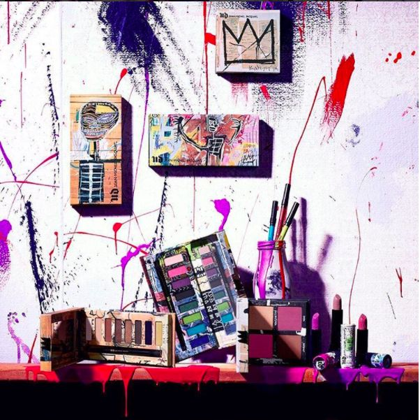 The New Urban Decay x Jean-Michel Basquiat Collection Is the Definition of Wearable Art   Allure
