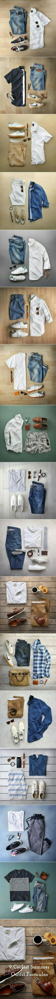 9 Summer Casual Outfit Ideas For Men.